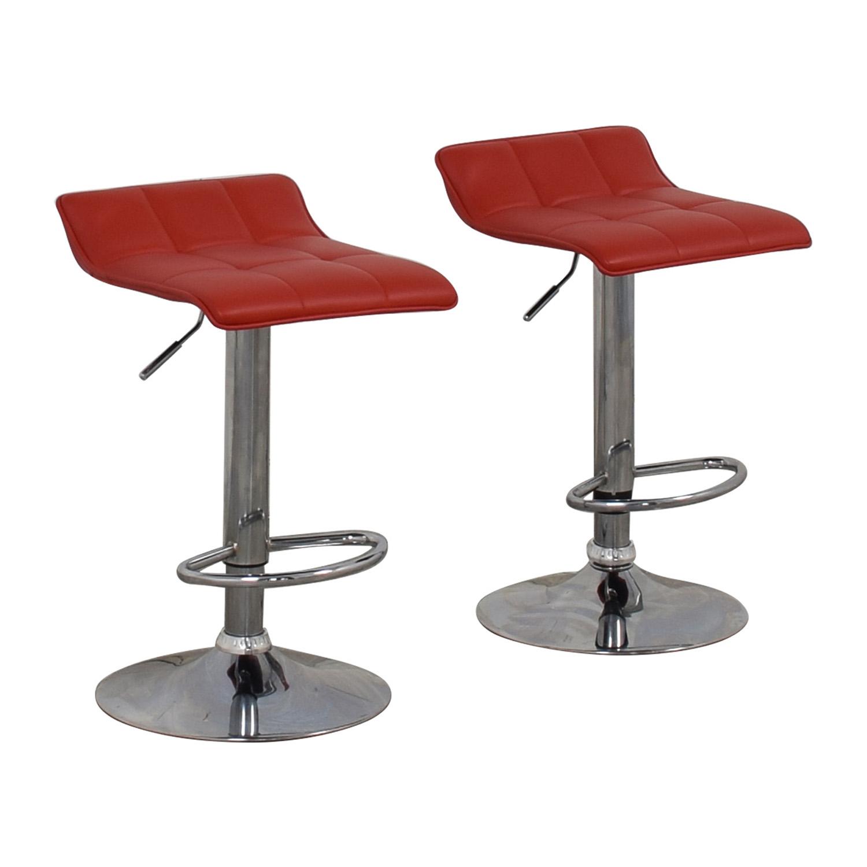 shop Wayfair Red Adjustable Barstools Wayfair Stools