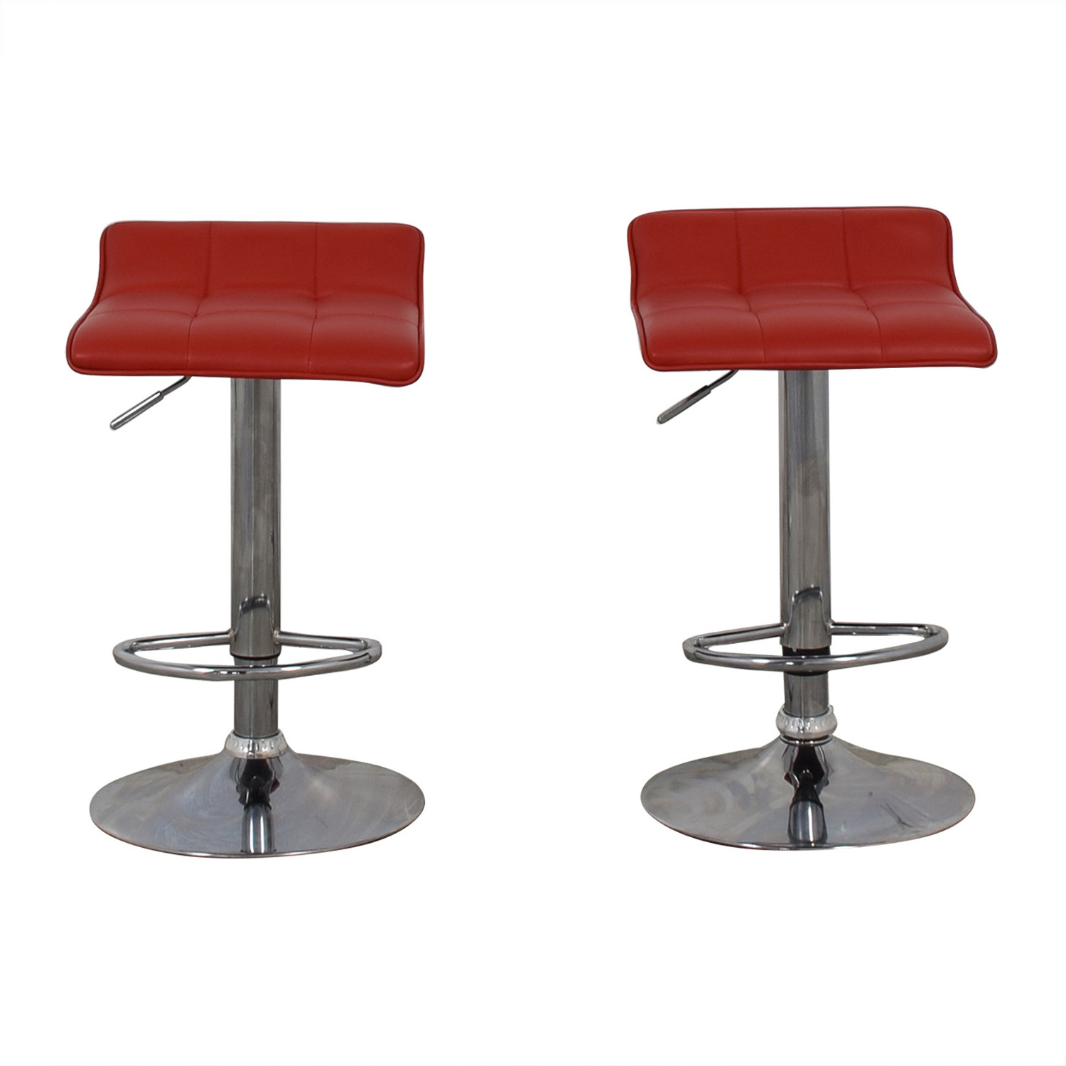buy Wayfair Red Adjustable Barstools Wayfair Chairs