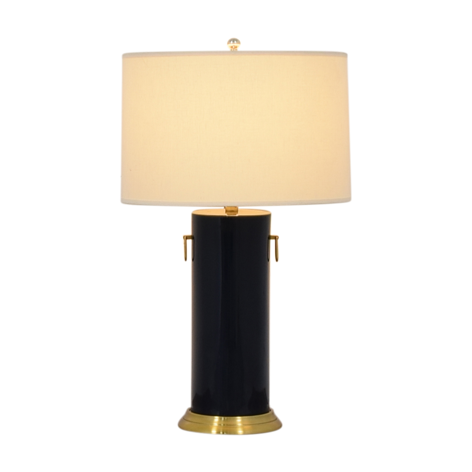 buy Pottery Barn Pottery Barn Navy Table Lamp online