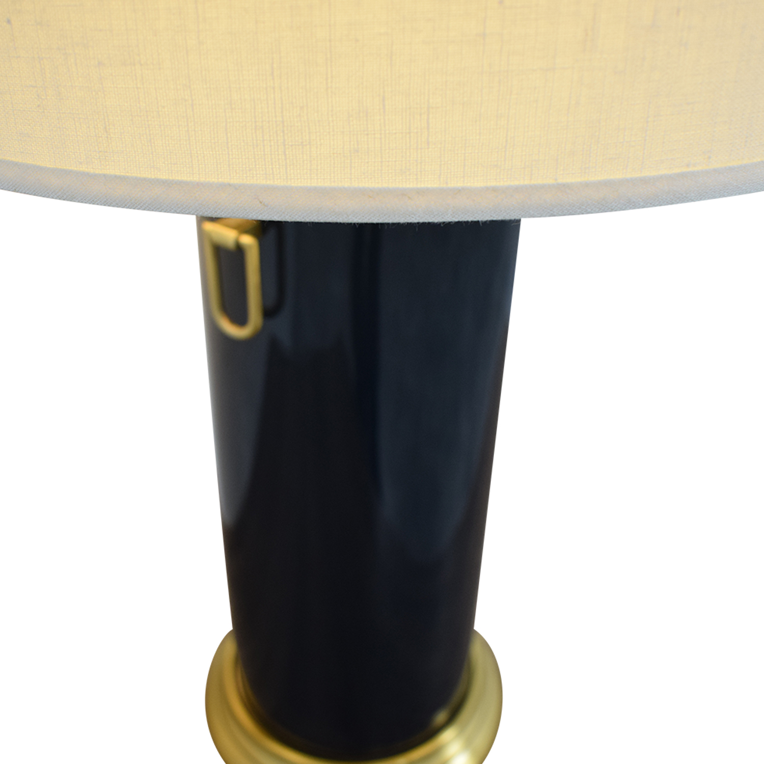 Pottery Barn Pottery Barn Navy Table Lamp for sale