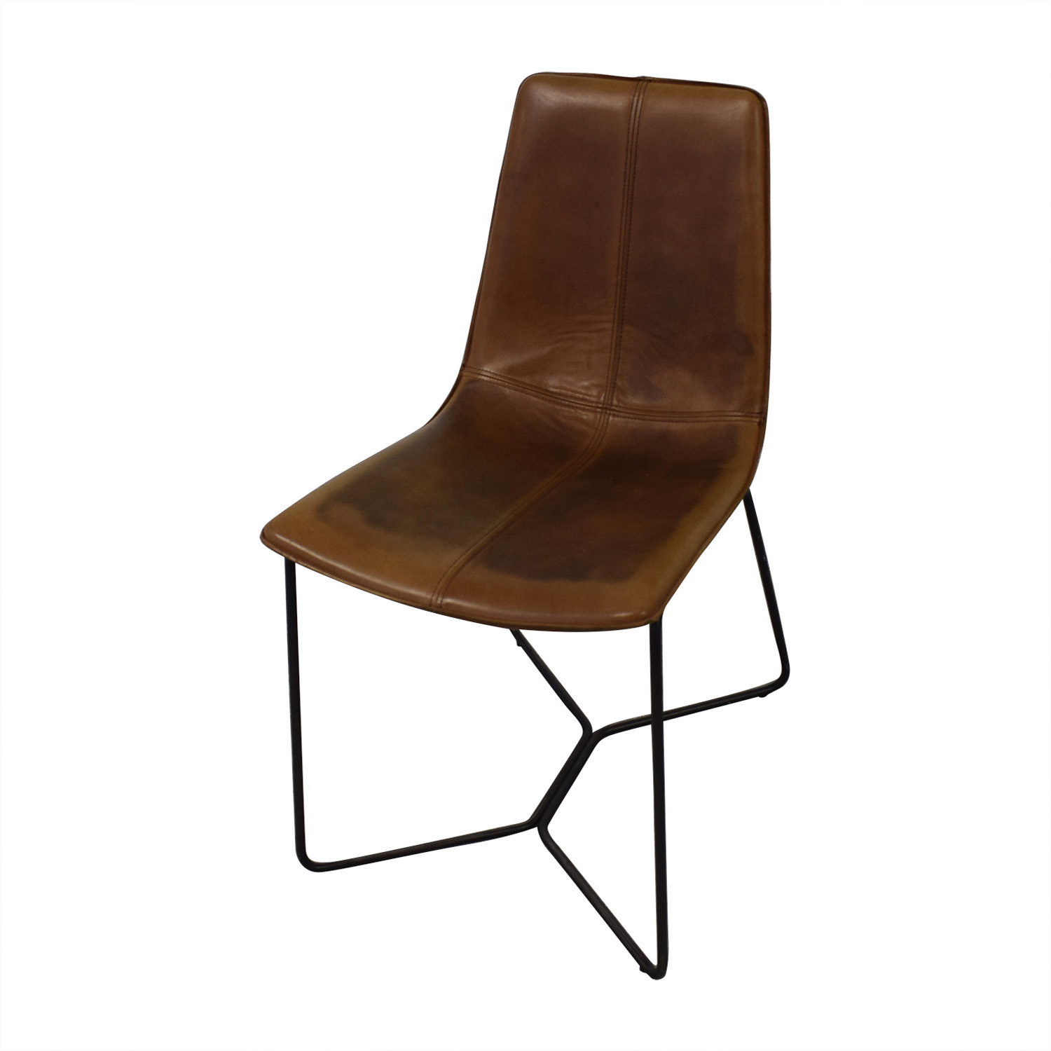 West Elm Brown Dining Chairs / Dining Chairs