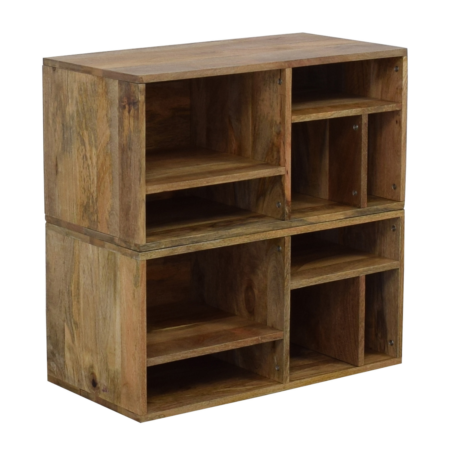 buy Urban Outfitters Raw Wood Bookshelves Urban Outfitters Storage