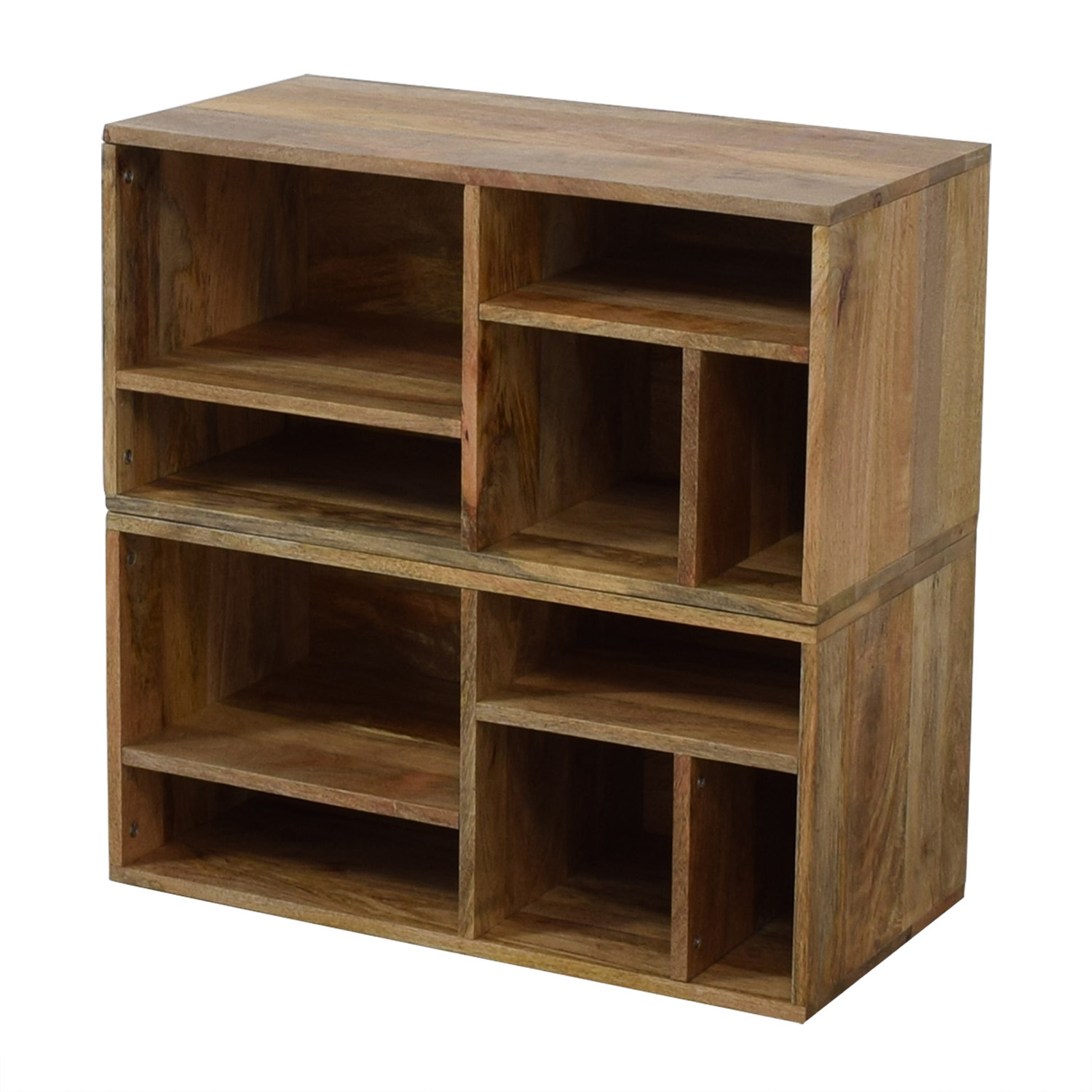 shop Urban Outfitters Urban Outfitters Raw Wood Bookshelves online