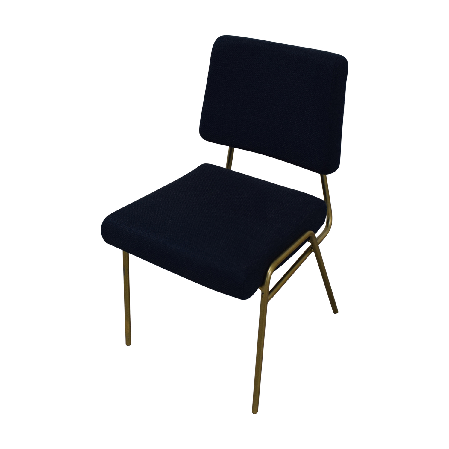 buy West Elm Navy Blue Upholstered Dining Chairs West Elm