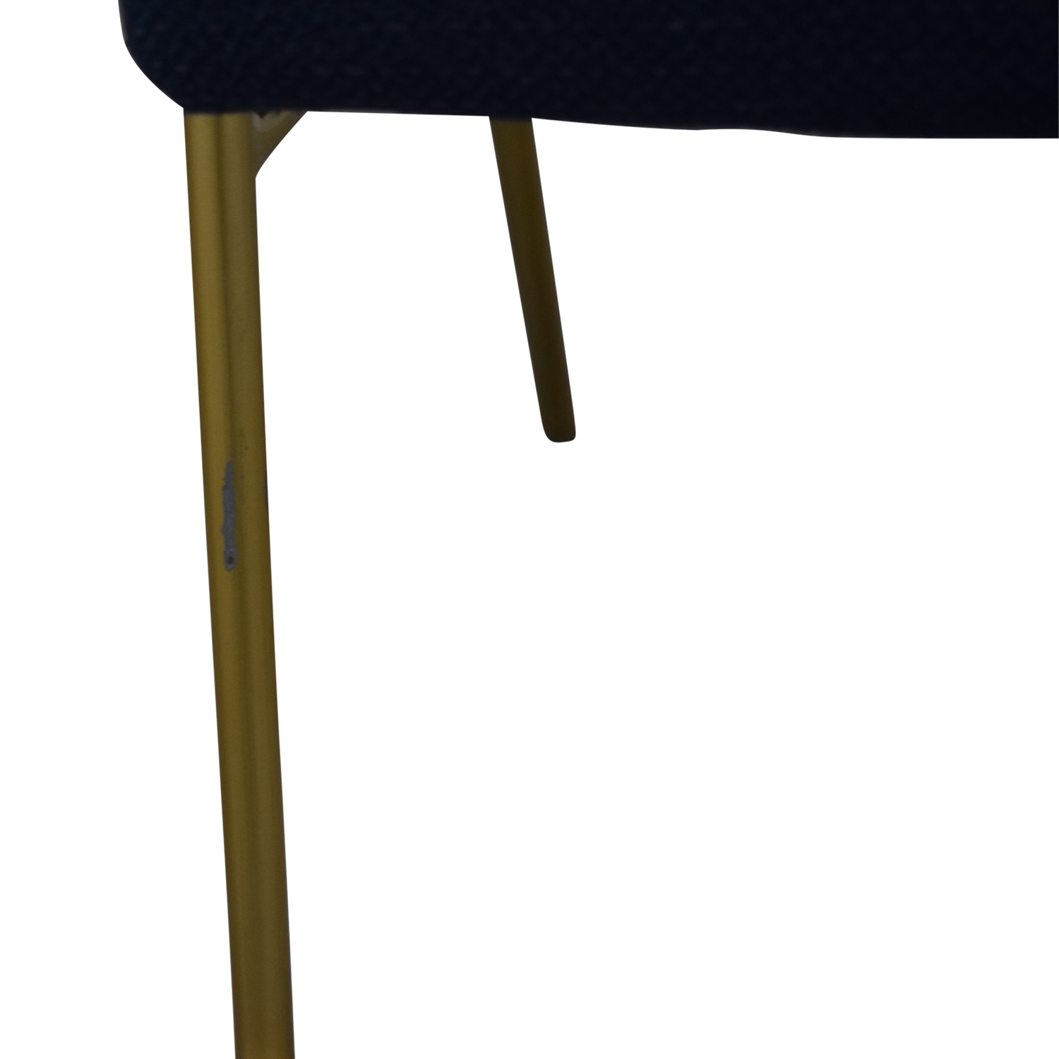 shop West Elm Navy Blue Upholstered Dining Chairs West Elm Chairs