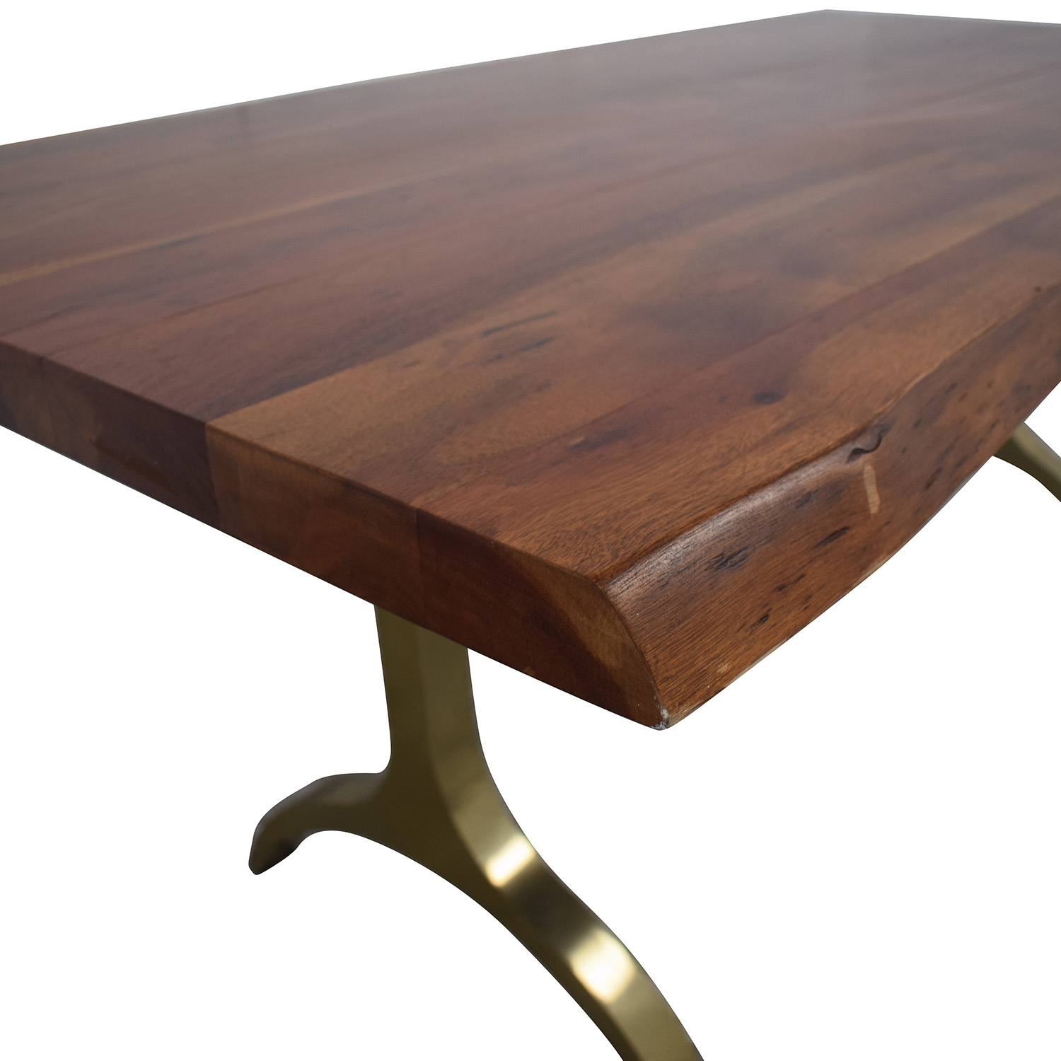 West Elm West Elm Live Edge Dining Table used