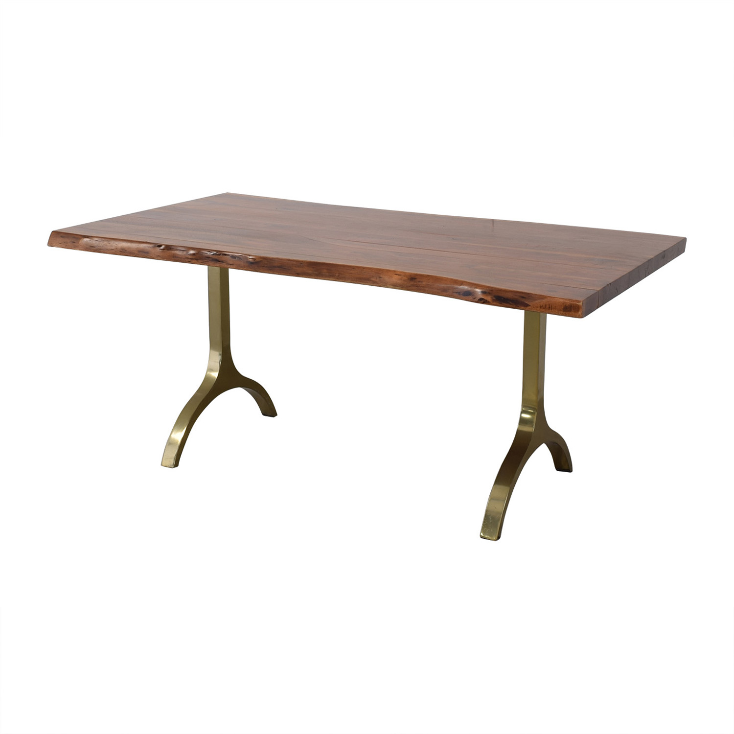 West Elm West Elm Live Edge Dining Table for sale