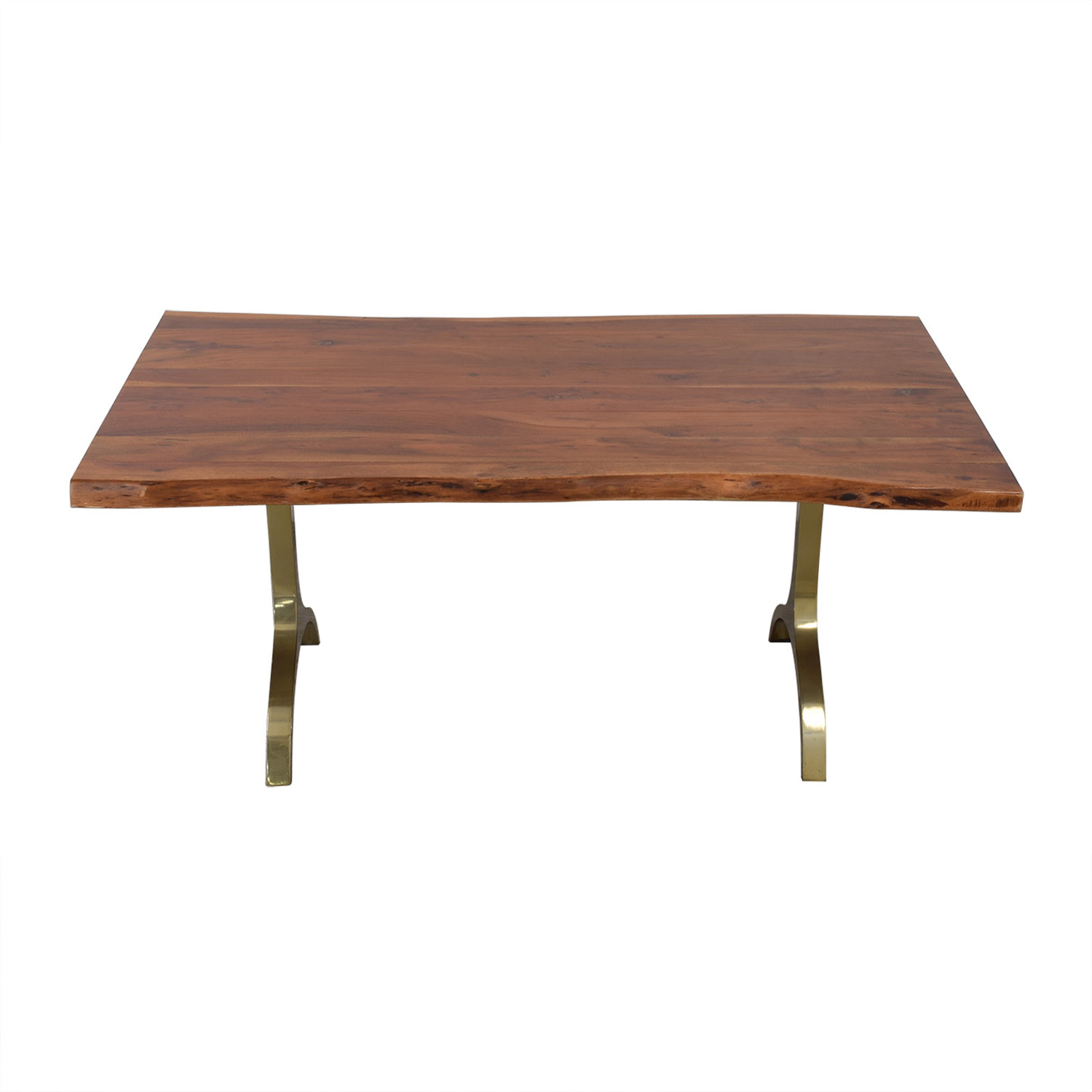 West Elm West Elm Live Edge Dining Table discount