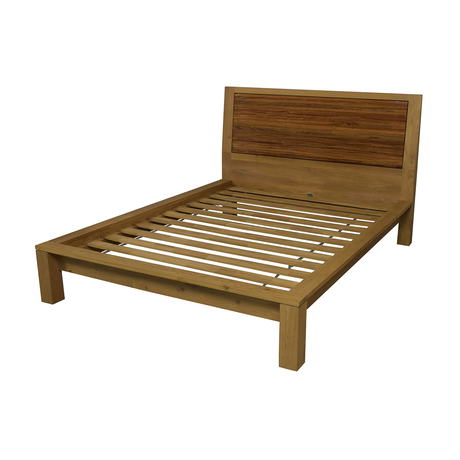 Crate & Barrel Queen Bed Frame sale