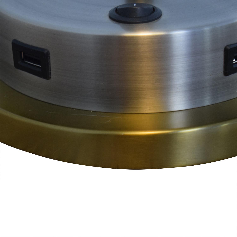 West Elm West Elm Metal Task Table Lamp with USB Port Decor