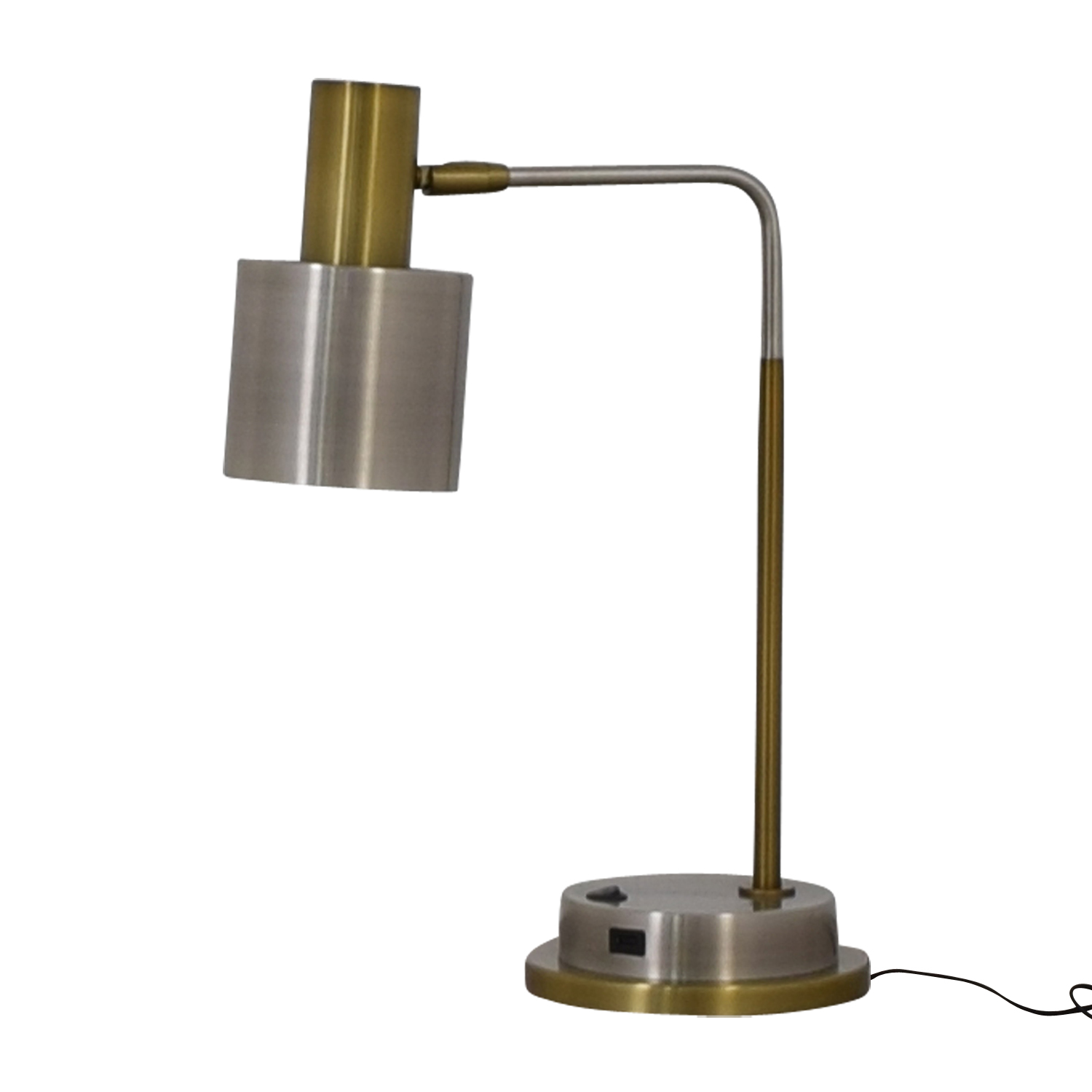 West Elm West Elm Metal Task Table Lamp with USB Port