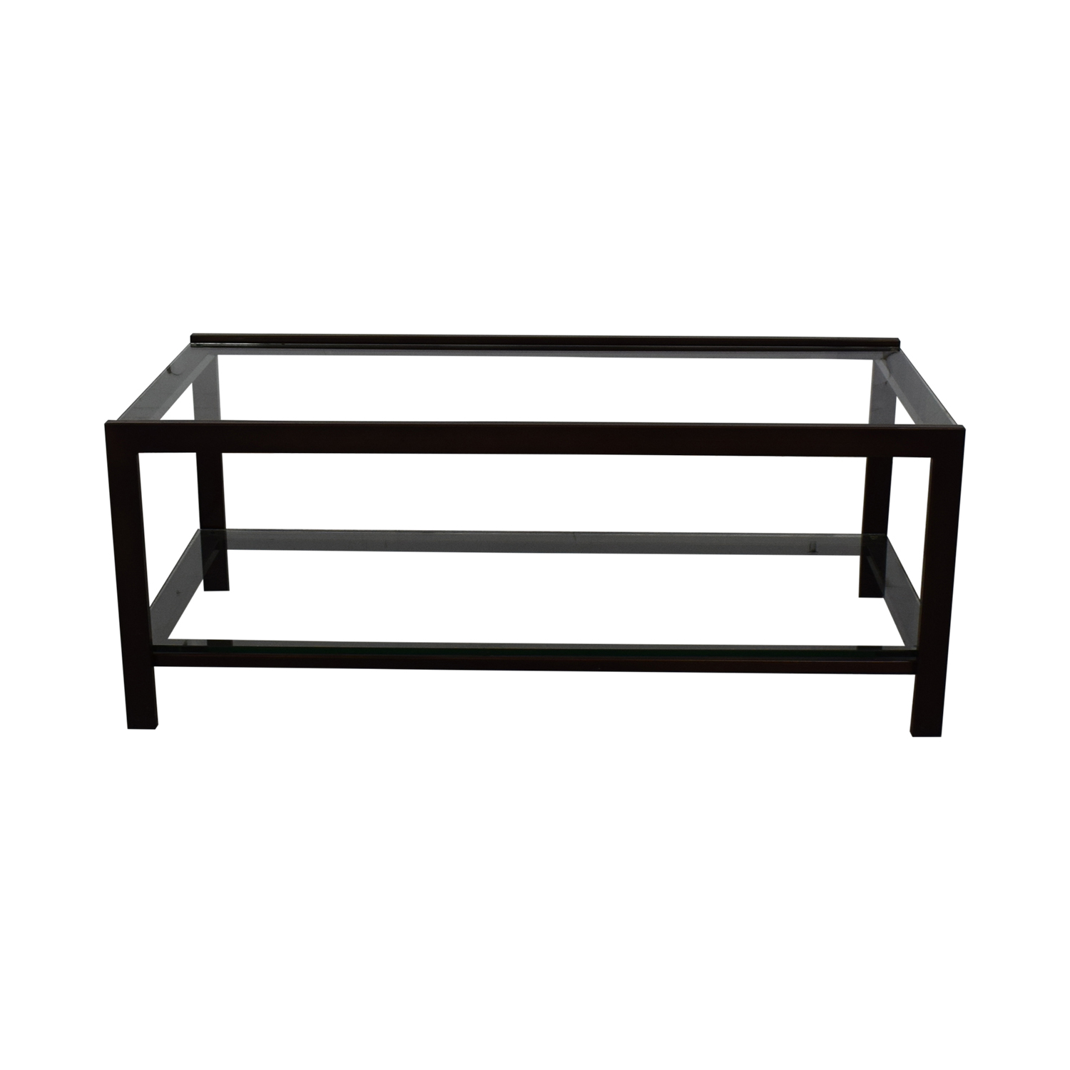 Crate & Barrel Crate & Barrel Glass Coffee Table Coffee Tables