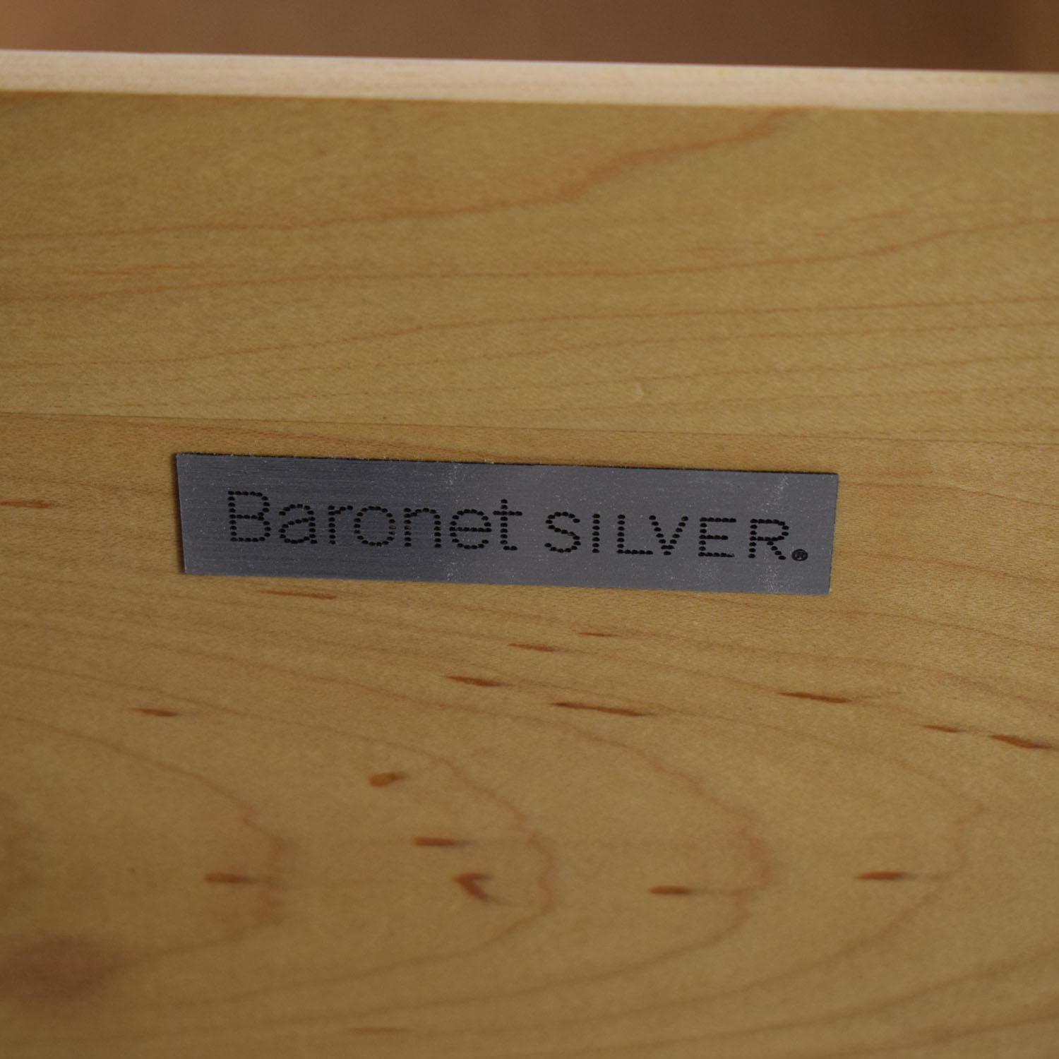 Baronet Baronet Silver Media Unit dimensions