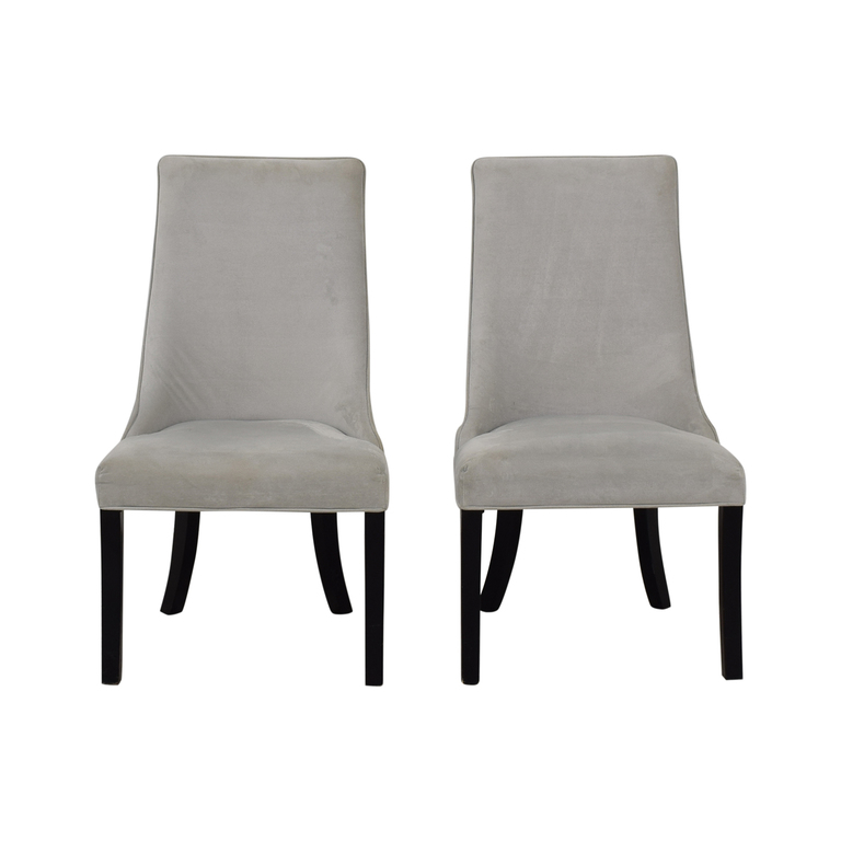Structube Velvet Parsons Chairs coupon
