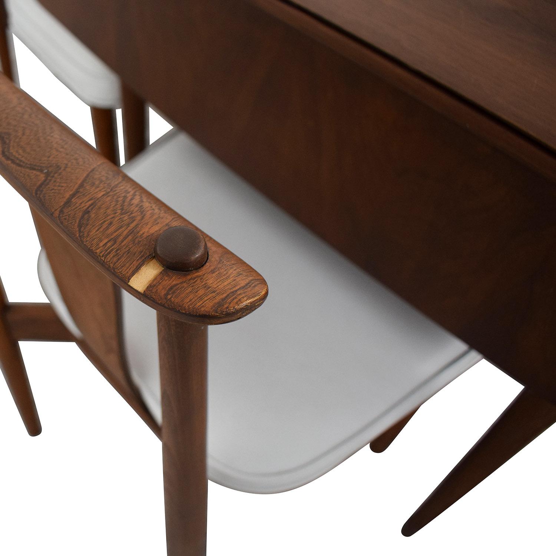 John Widdicomb Co. John Widdicomb Company Mid-Century Dining Set Tables