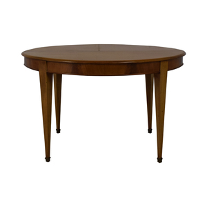 Antique Round Dining Table dimensions