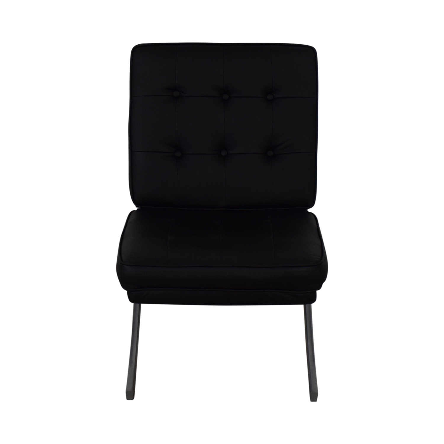 Raymour & Flanigan Raymour & Flanigan Black Accent Chair nyc