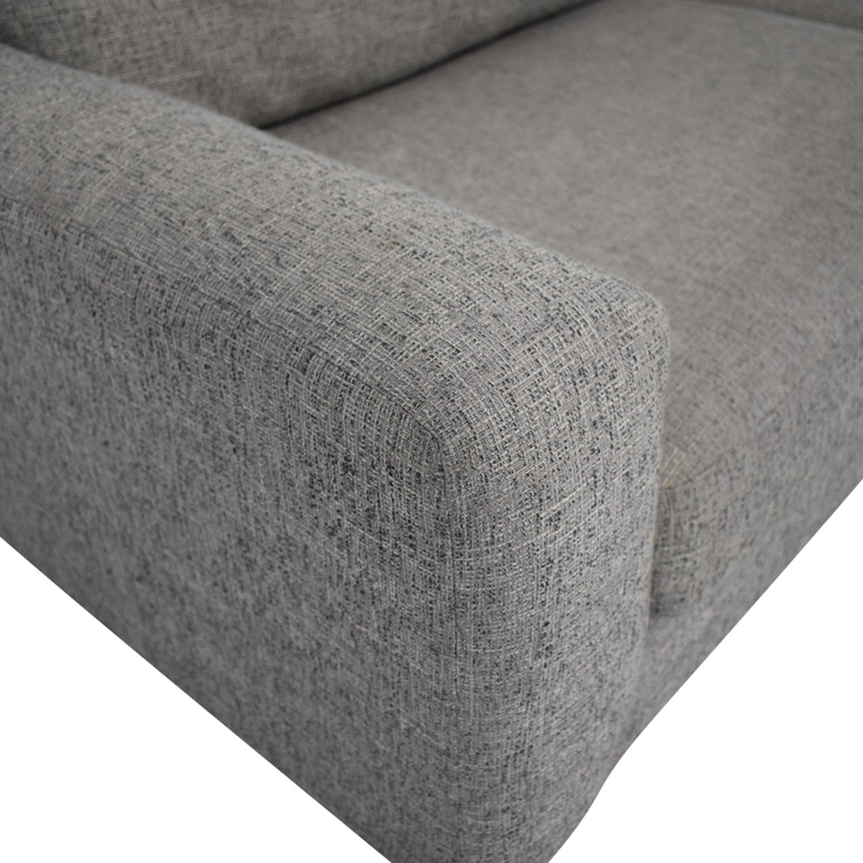 West Elm West Elm Two Cushion Sofa price