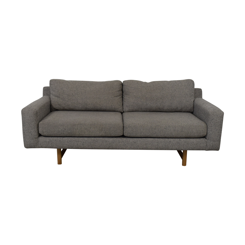 buy West Elm Two Cushion Sofa West Elm Sofas