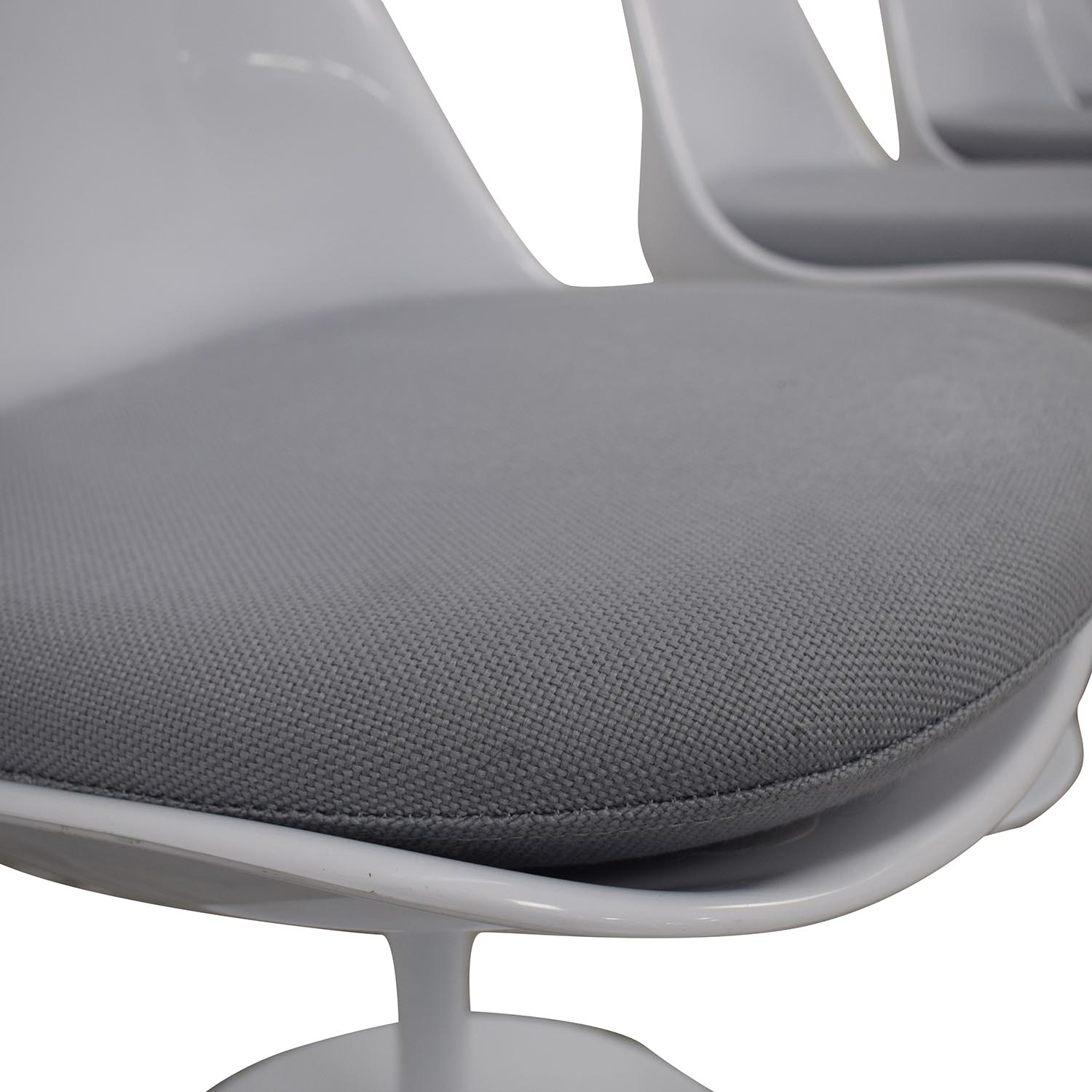 buy Modway Lippa Gray Dining Fabric Side Chairs Modway Dining Chairs