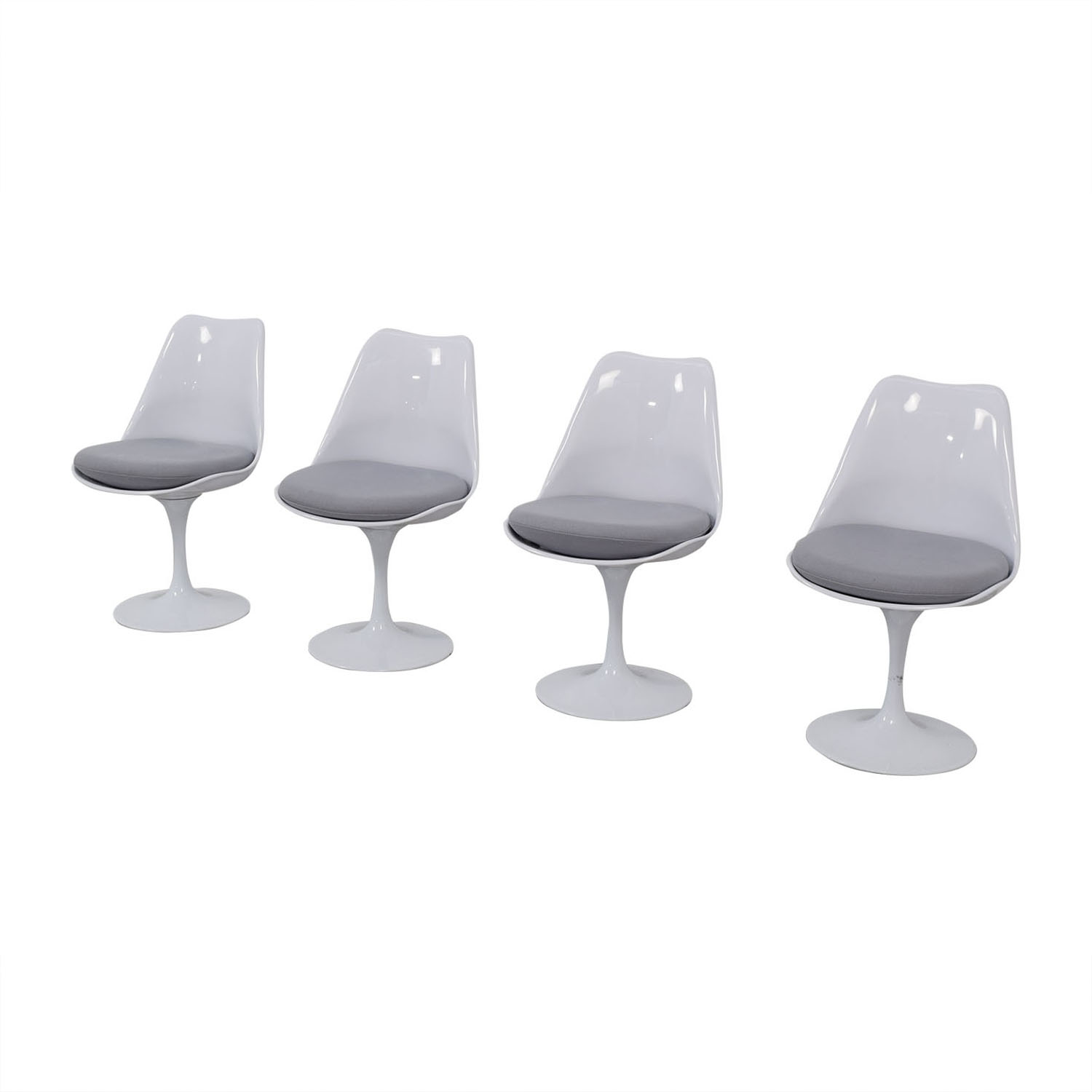 Modway Modway Lippa Gray Dining Fabric Side Chairs on sale