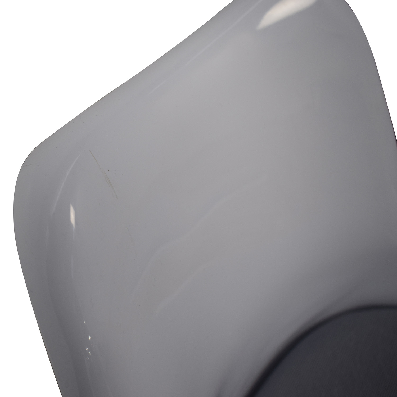 Modway Modway Lippa Gray Dining Fabric Side Chairs nj