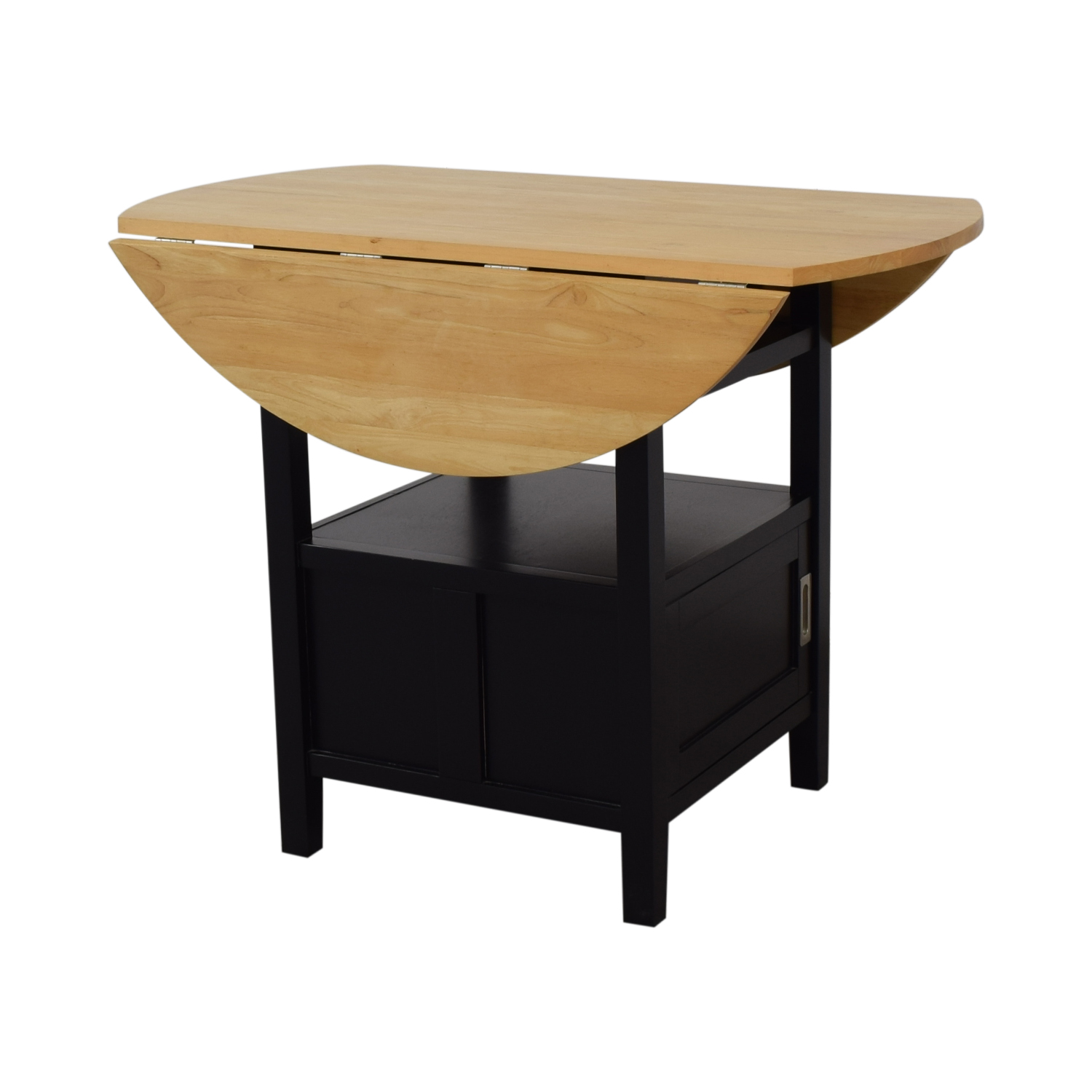 Crate & Barrel Crate & Barrel Belmont High Dining Table with Storage discount