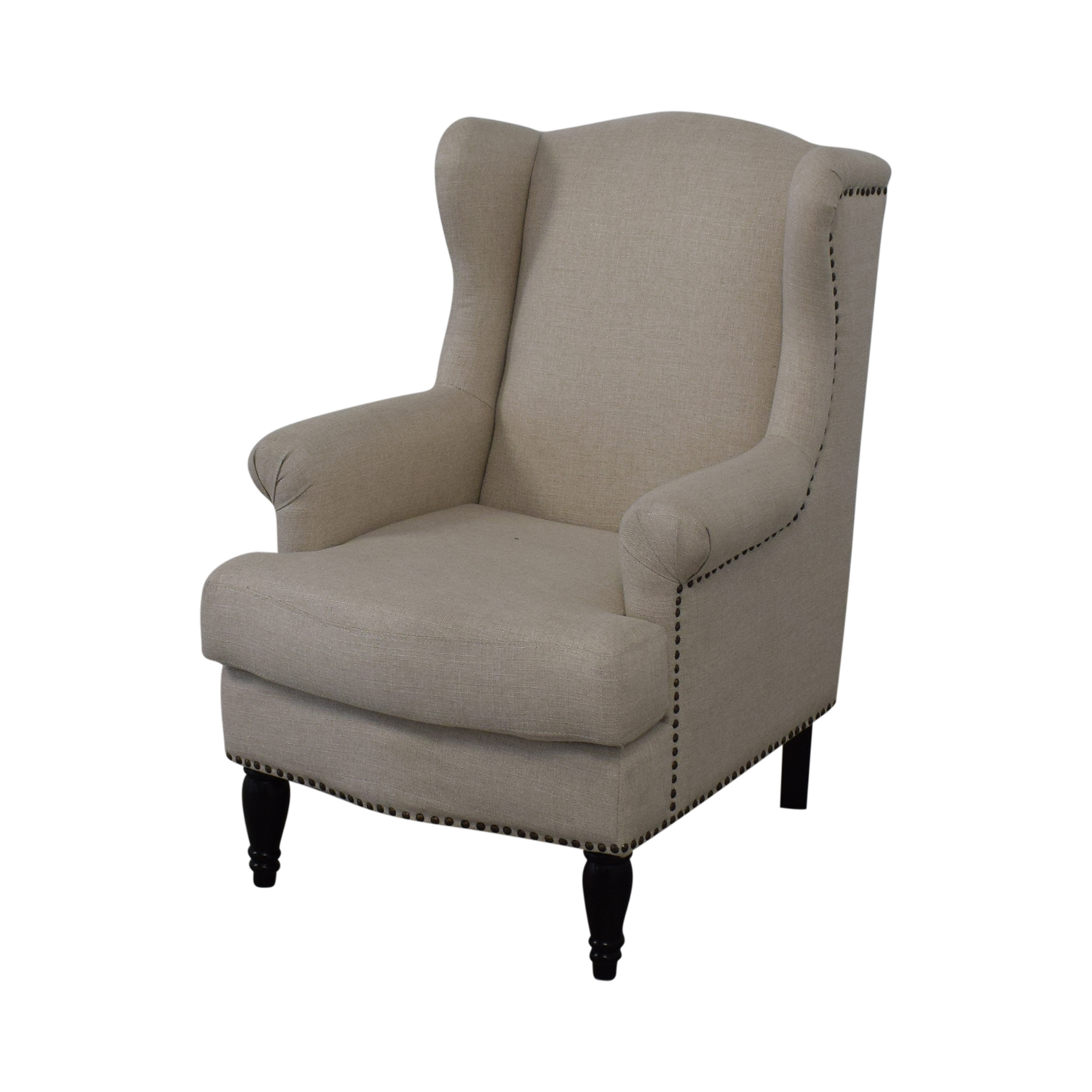Pottery Barn Pottery Barn Soma Delancey Upholstered Wingback Armchair