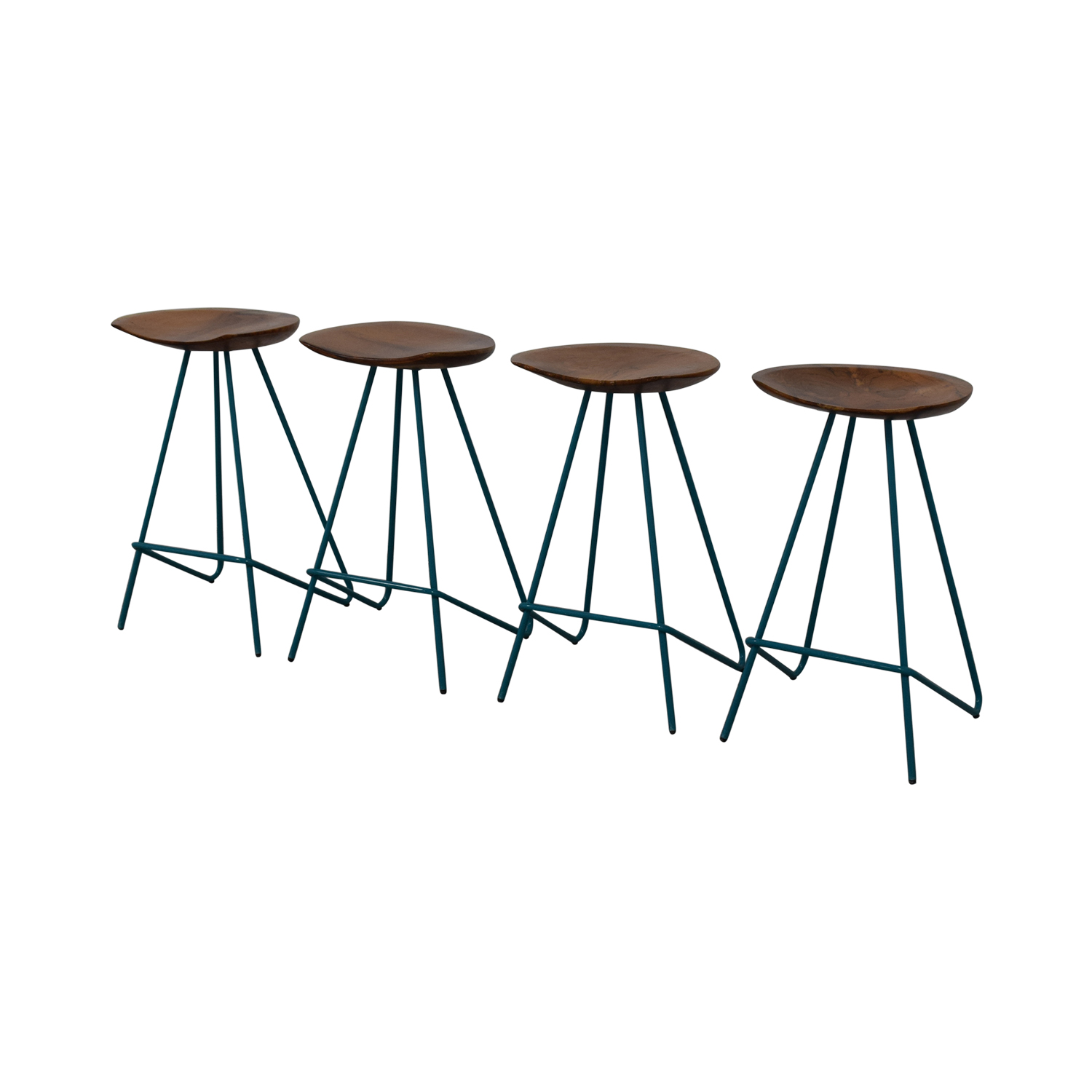 buy From the Source Teal Perch Bar Stools From the Source Stools