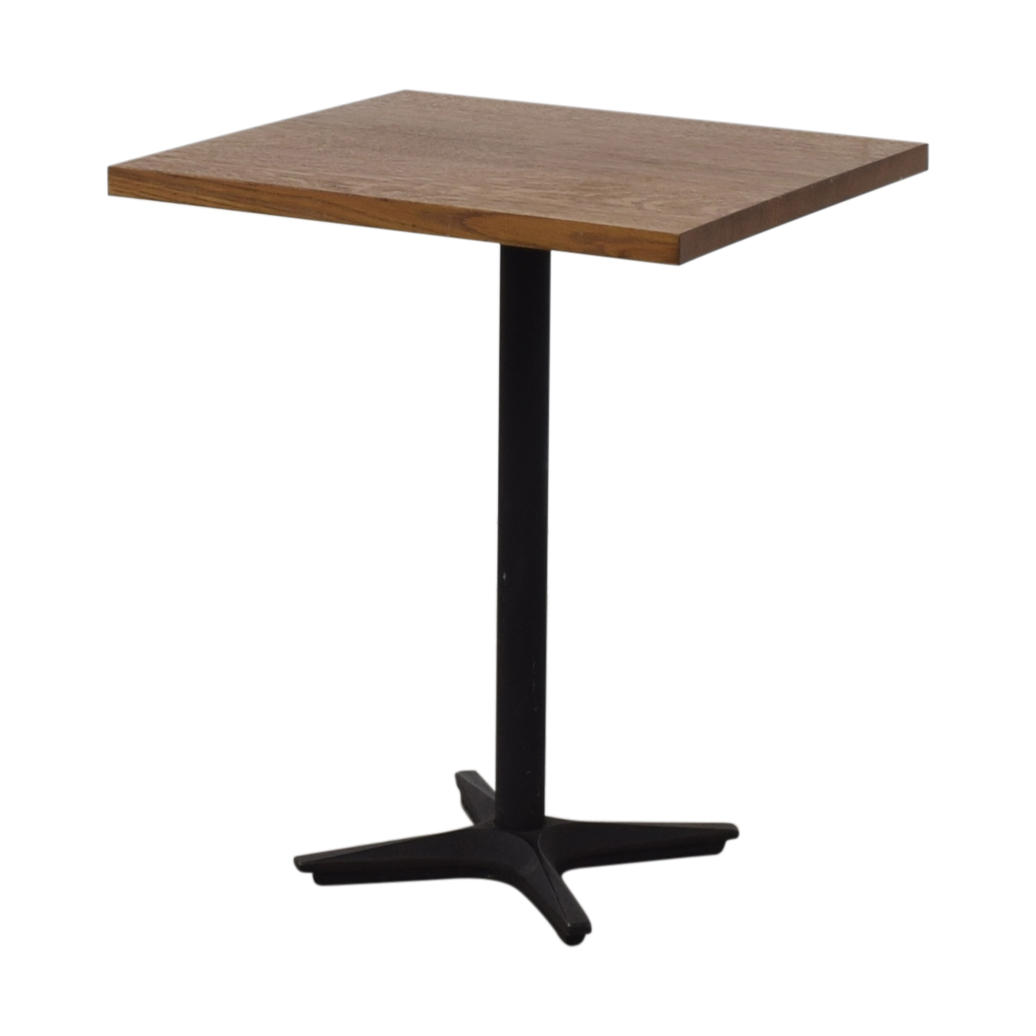 shop Small Wood Square Table