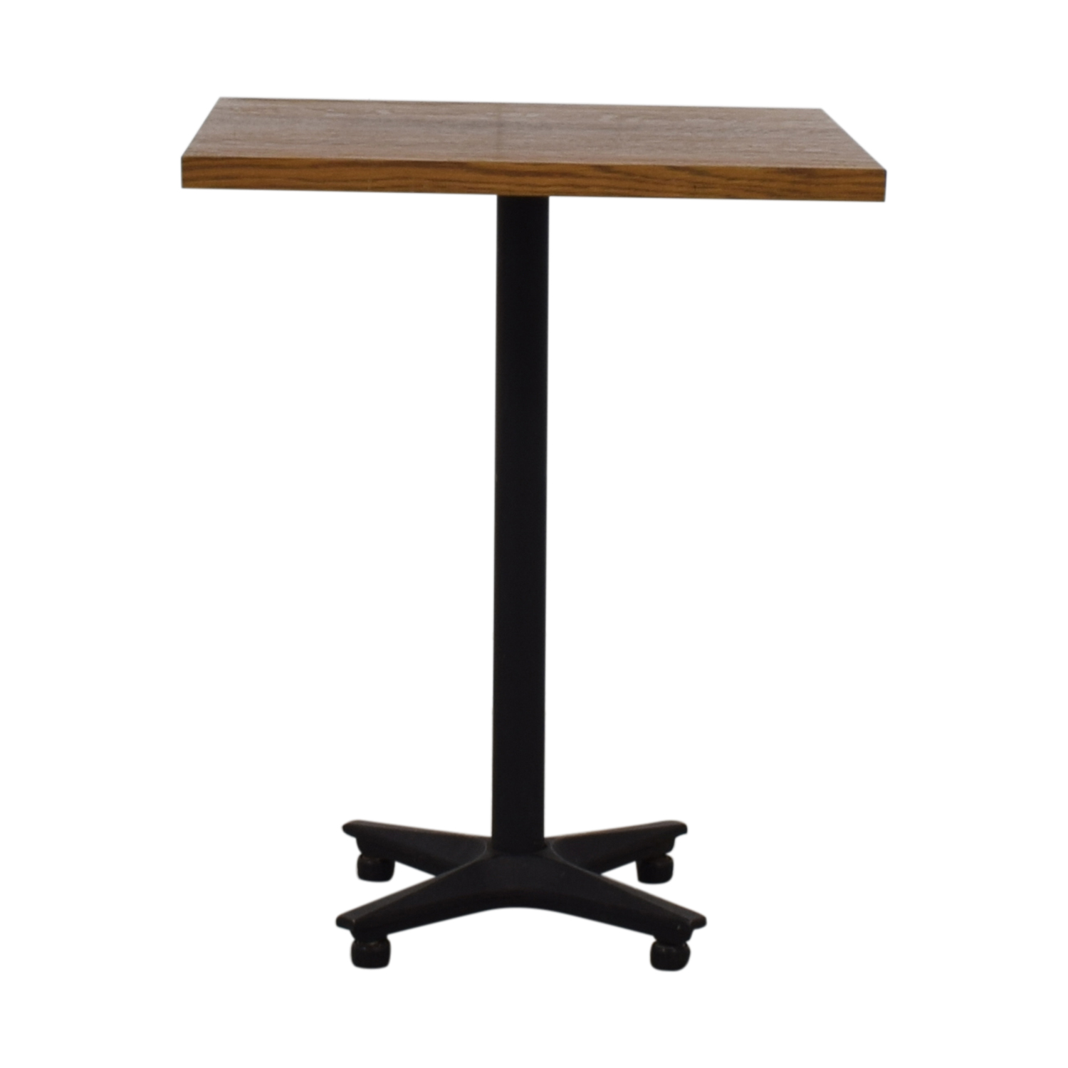 Small Wood Square Table on sale