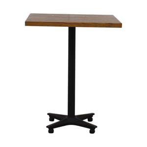 Small Wood Square Table discount