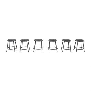 National Public Seating National Public Seating Metal Shop Stools for sale