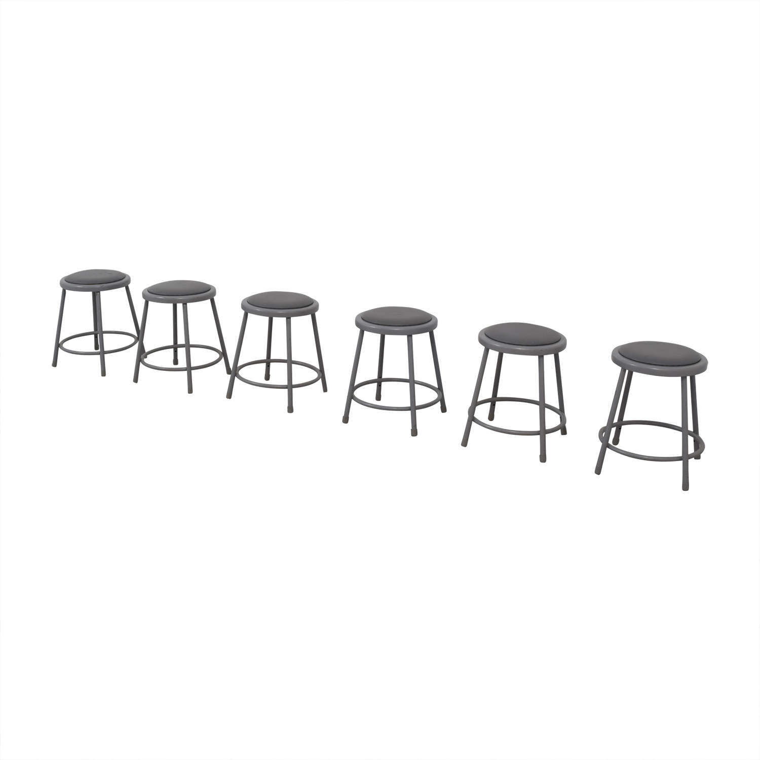 National Public Seating National Public Seating Metal Shop Stools discount