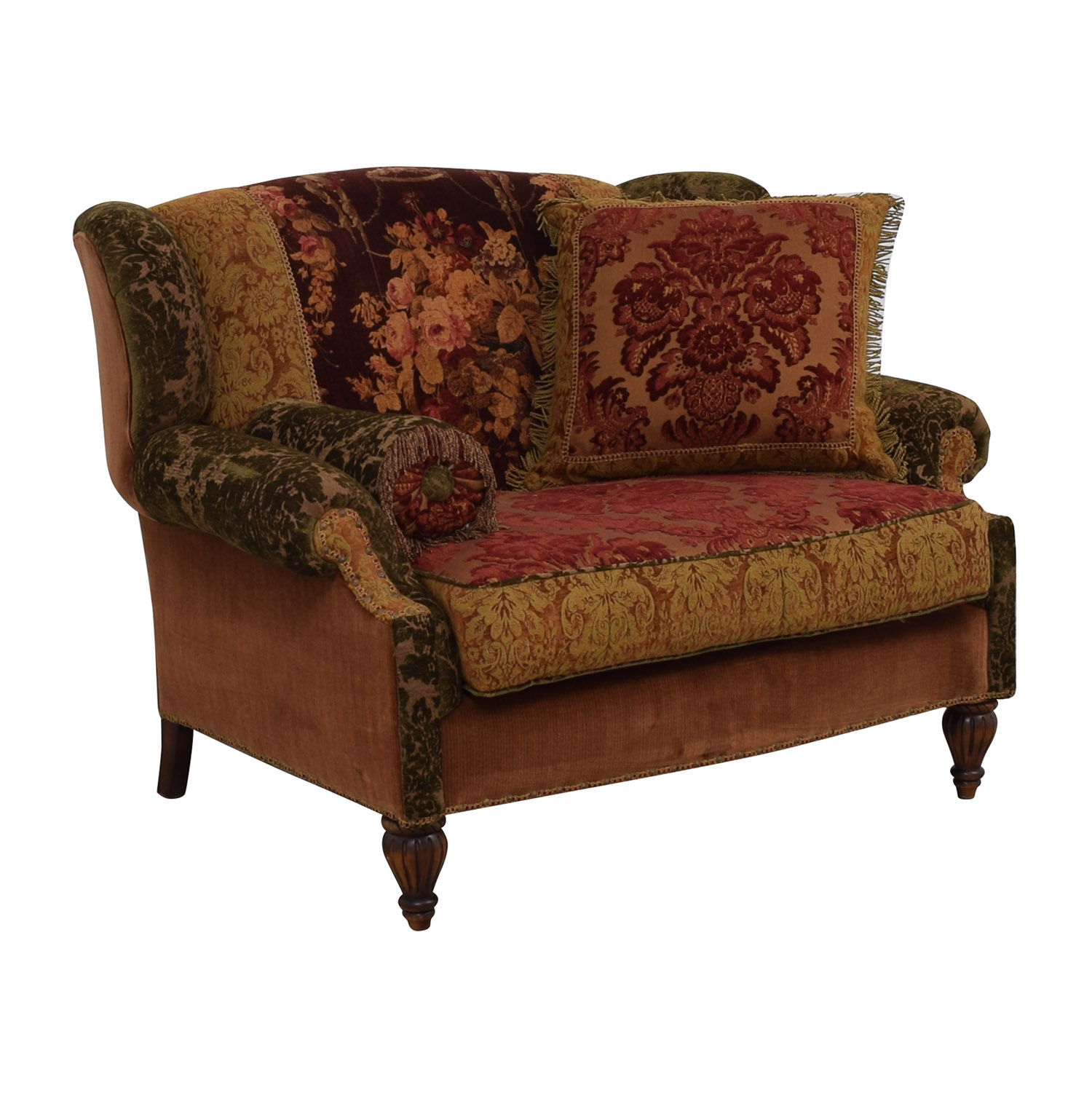 Domain Domain Brocade Multi-Colored Loveseat coupon