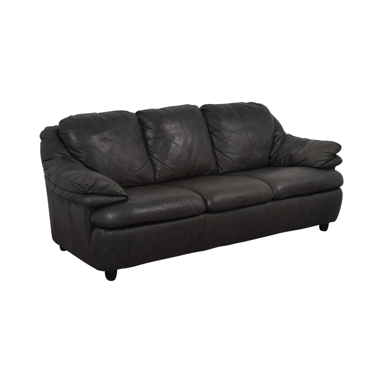 shop Macy's Macy's Grey Three-Cushion Sofa online