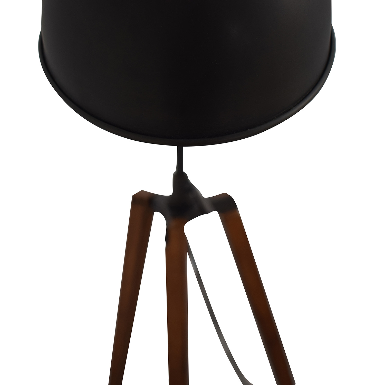 Organic Modernism Organic Modernism Industrial Tripod Lamp coupon