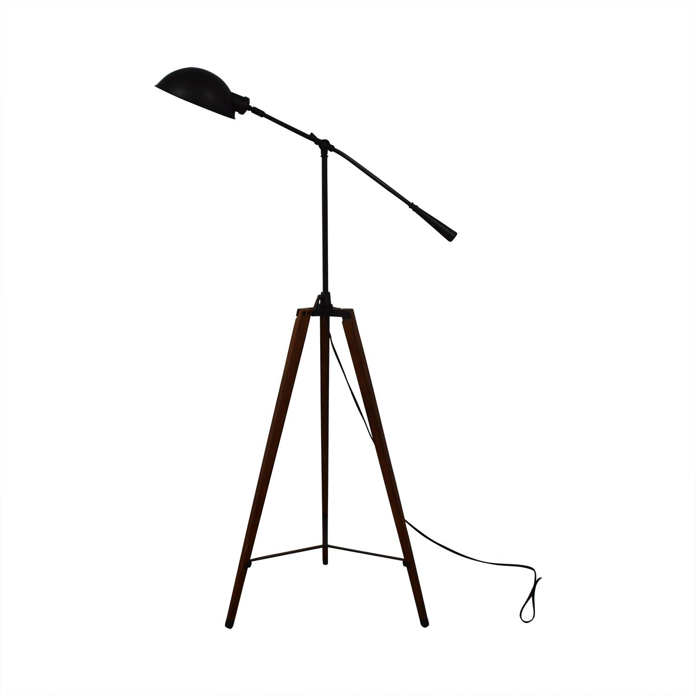 Organic Modernism Industrial Tripod Lamp sale