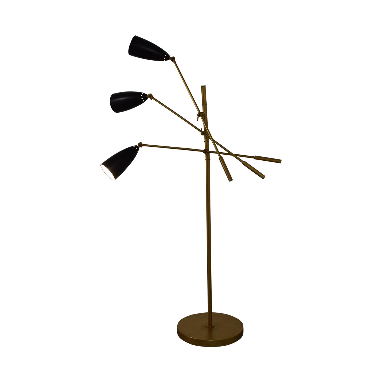 Organic Modernism Organic Modernism Trilight Floor Lamp