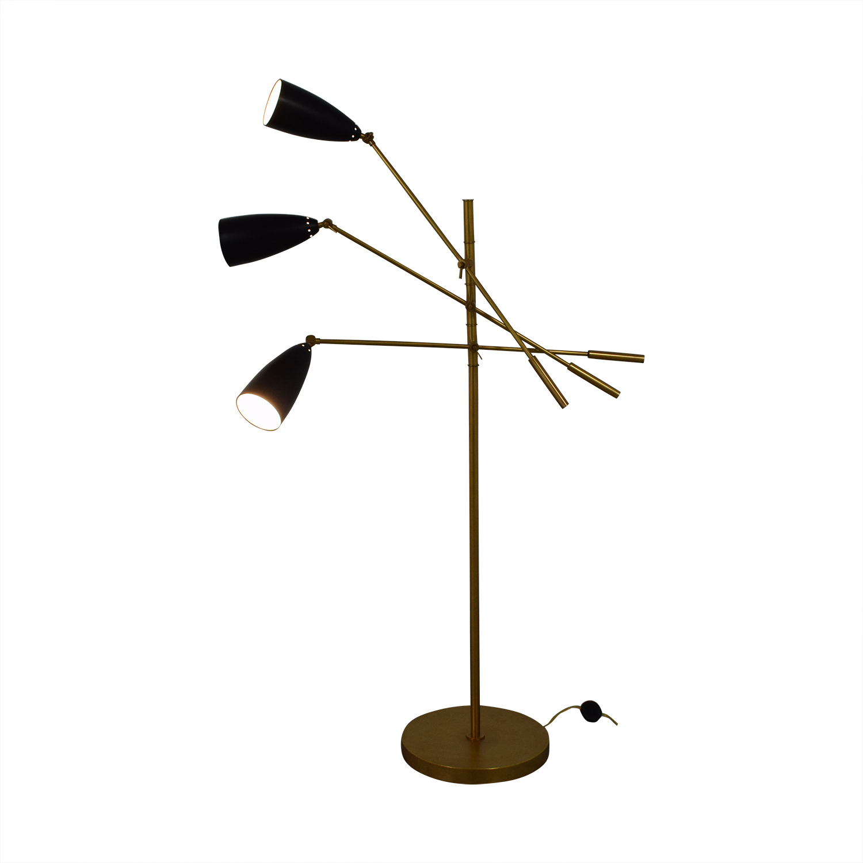 Organic Modernism Trilight Floor Lamp Organic Modernism