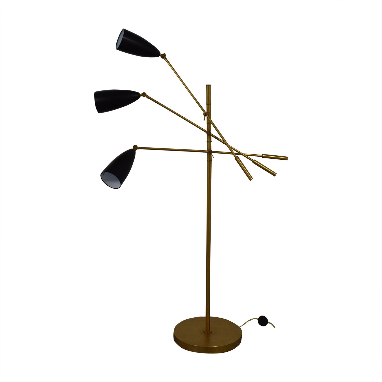 Organic Modernism Organic Modernism Trilight Floor Lamp nyc