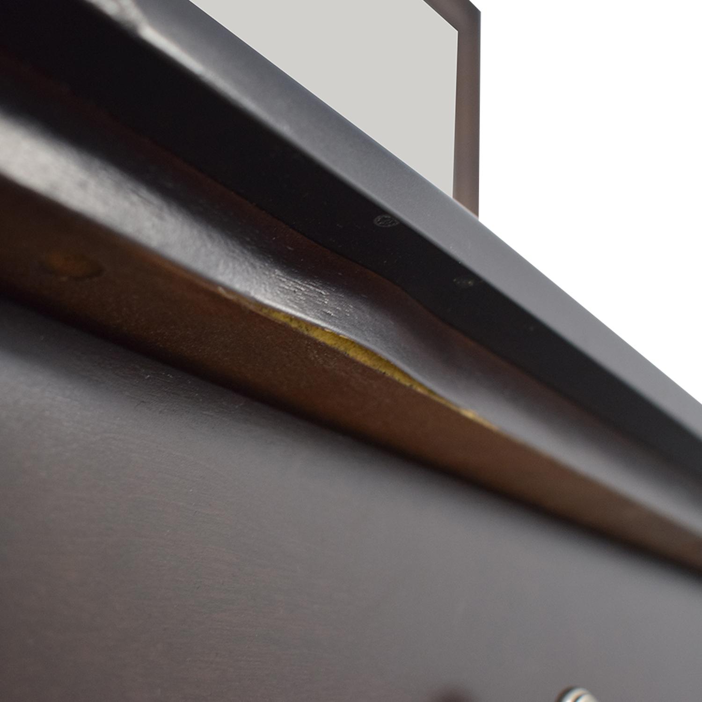 shop Modern Nine-Drawer Dresser With Mirror  Storage