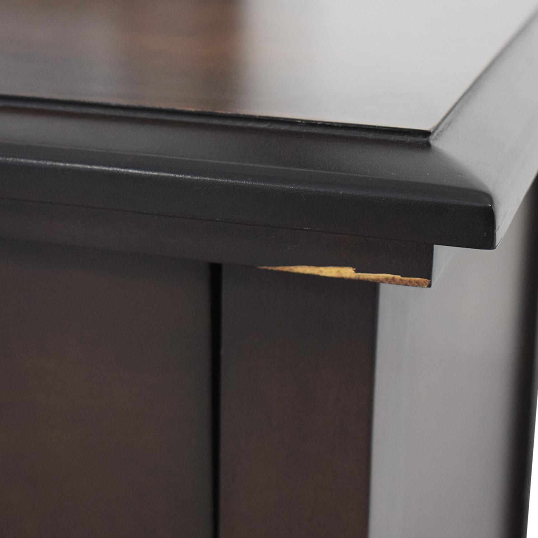 Modern Nine-Drawer Dresser With Mirror used