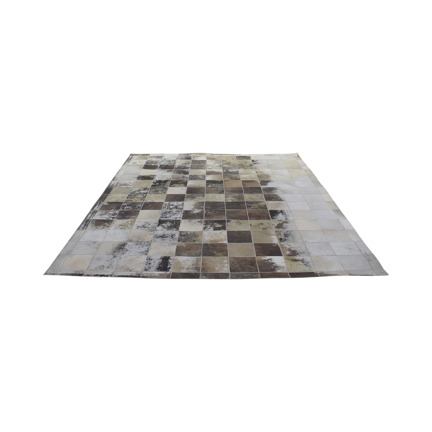 ABC Carpet & Home Cowhide Patchwork Rug / Rugs