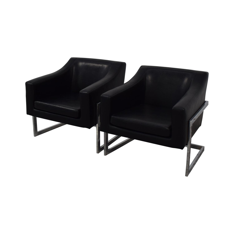 Coaster Fine Furniture Black Accent Chairs Coaster Fine Furniture
