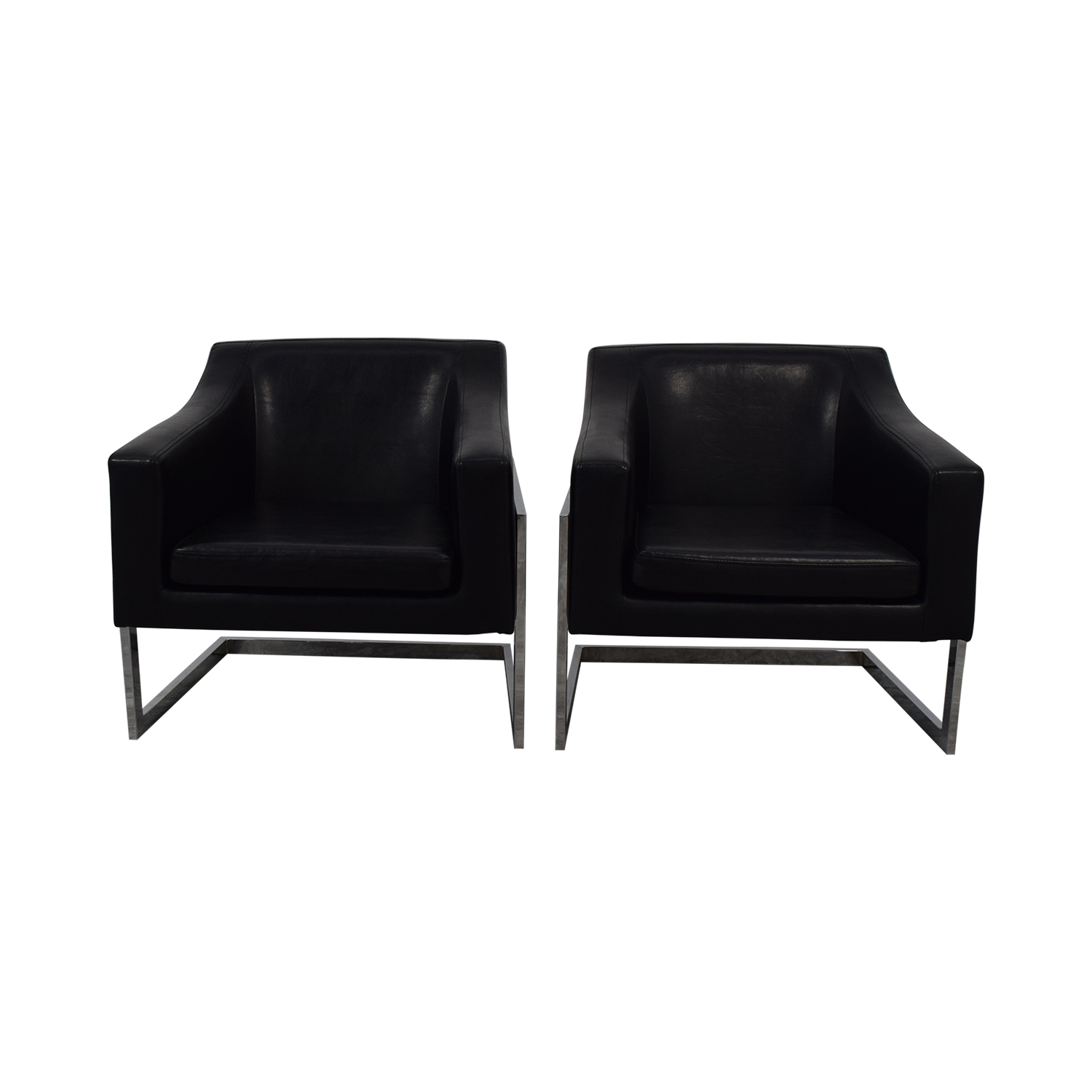 Coaster Fine Furniture Coaster Fine Furniture Black Accent Chairs second hand