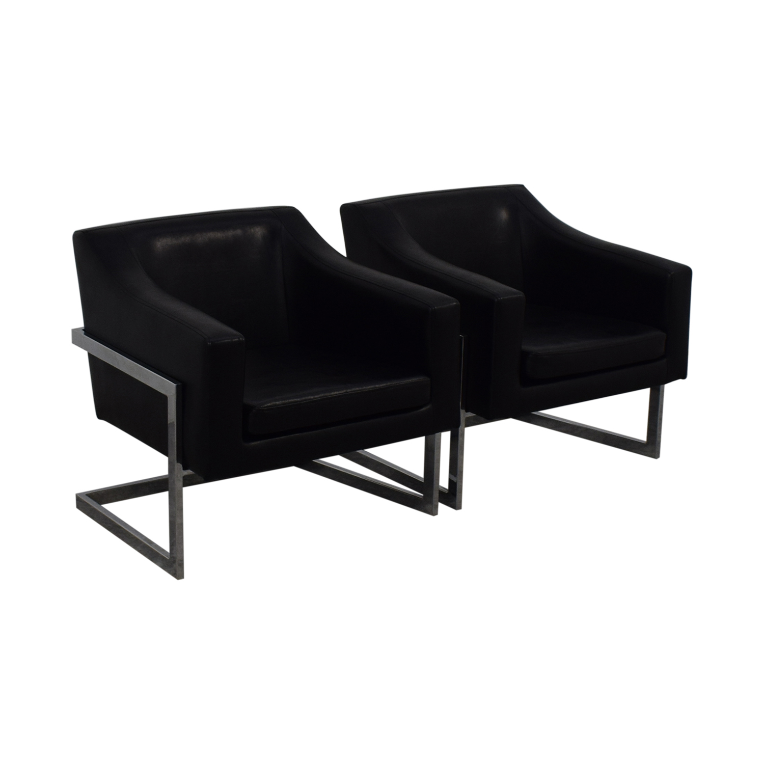 Coaster Fine Furniture Coaster Fine Furniture Black Accent Chairs nyc