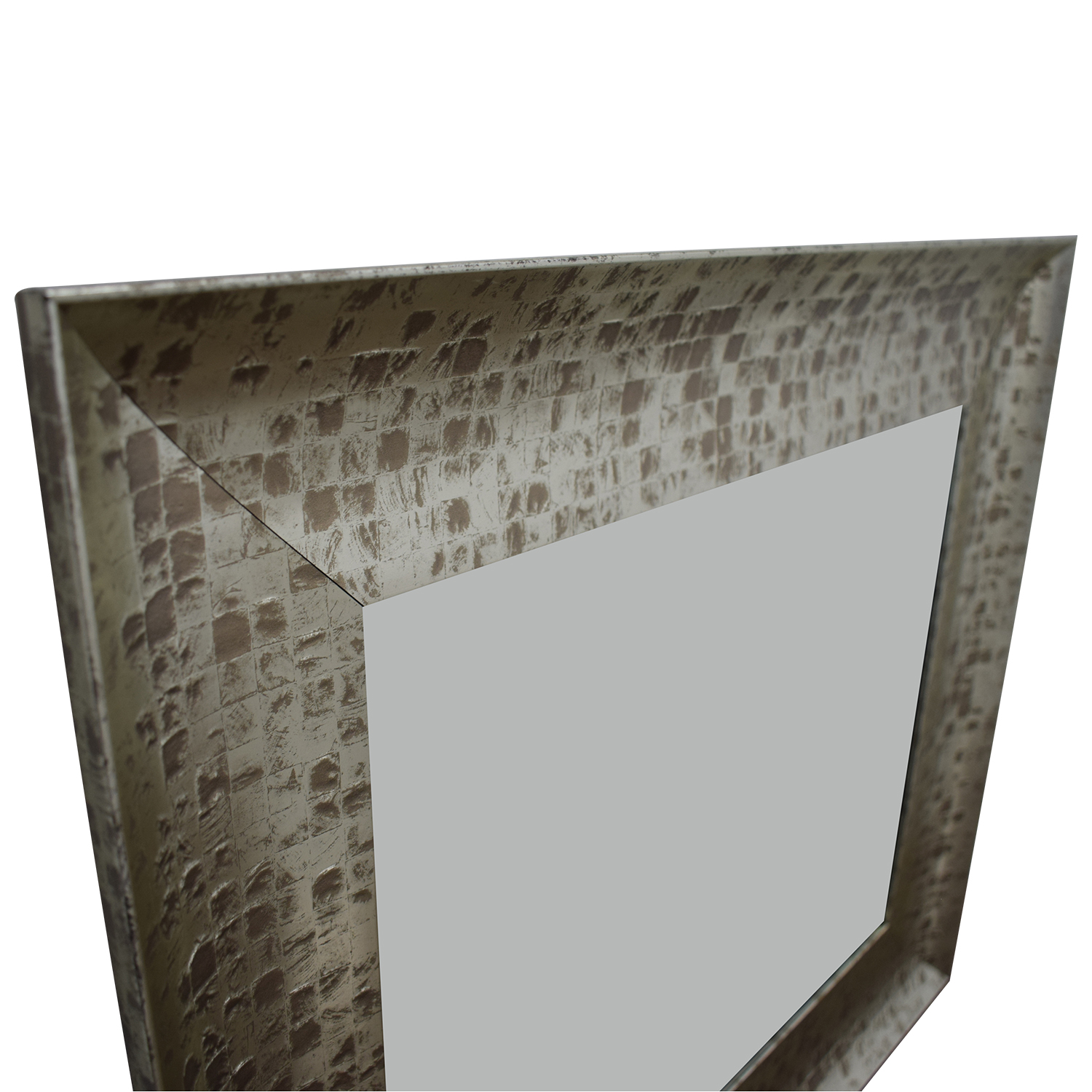 buy West Elm West Elm Distressed Gold Wall Mirror online