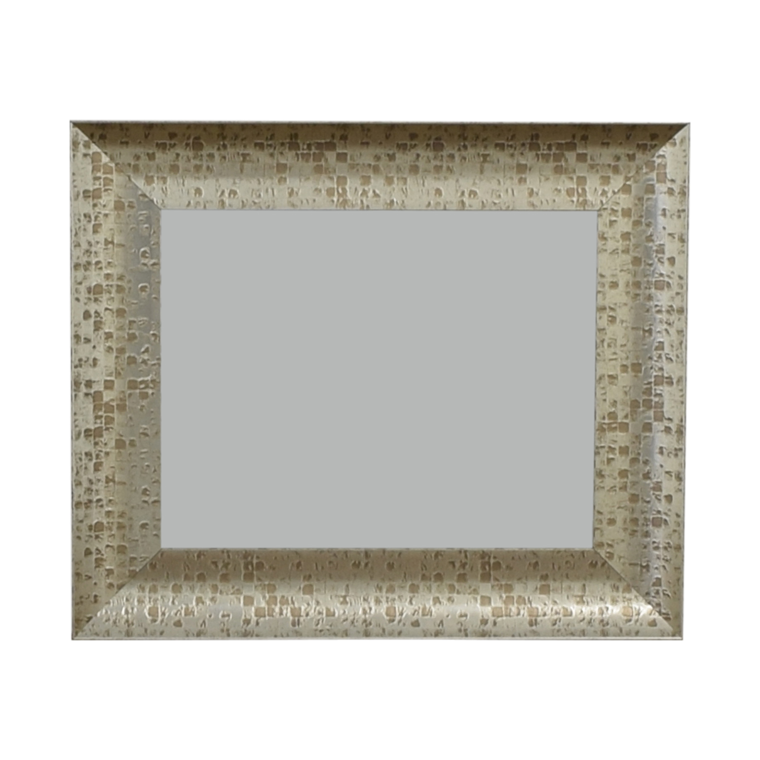 West Elm Distressed Gold Wall Mirror West Elm