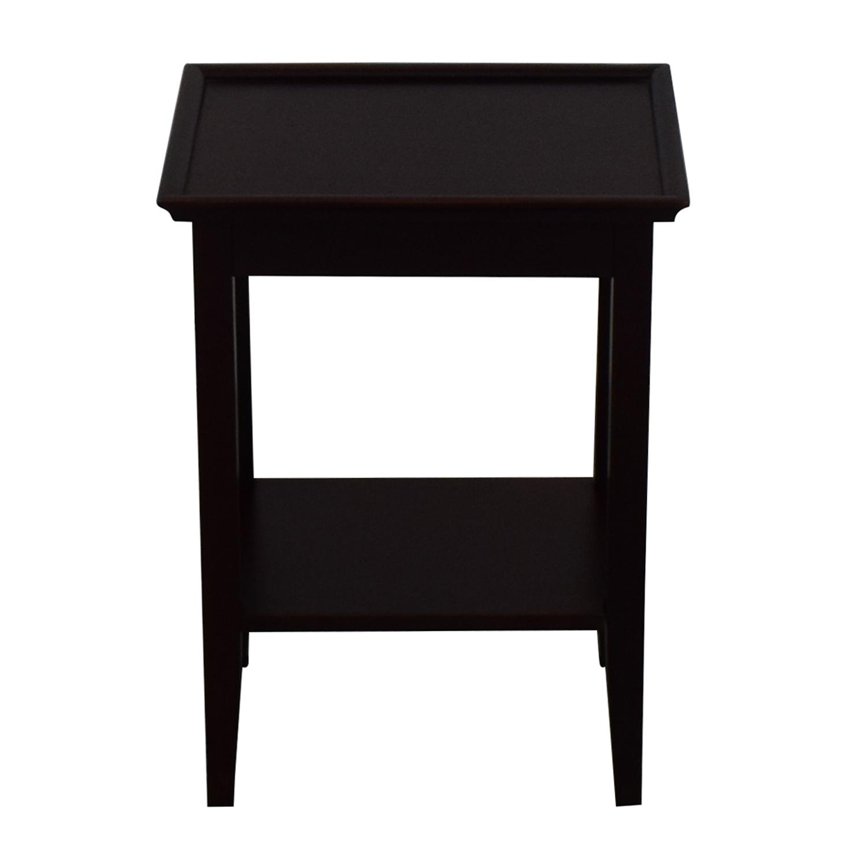Crate & Barrel Crate & Barrel Bradshaw Side Table dimensions
